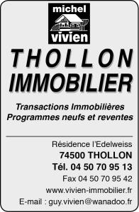 thollon immobilier