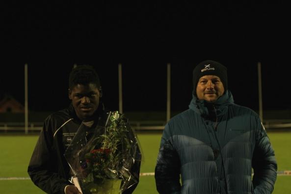 Makenson Gletty et Didier Richard, aux lancers
