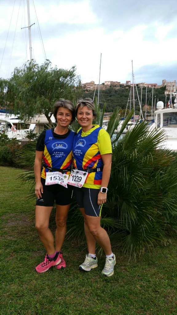 Valérie Magin et Anne Lebrun en Corse