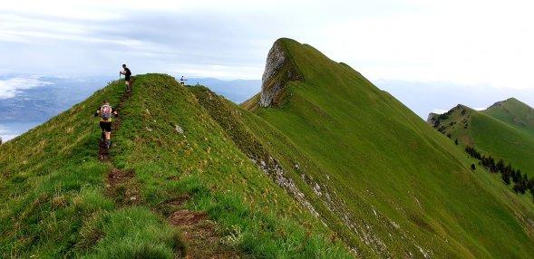 manon et le trail des cretes du chablais 2019 (2)
