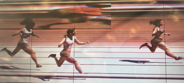 photo finish camille Cottin à saint égrève