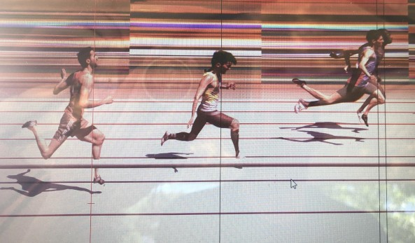 photo finish Daouda a Saint EGREVE
