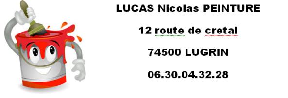 NICOLAS LUCAS peintre